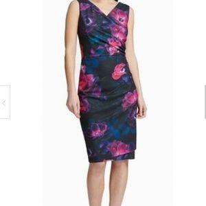 DKNY Women's Dress Purple Blue  6 Broken Zipper
